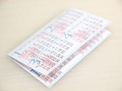 ポケットカレンダー2010