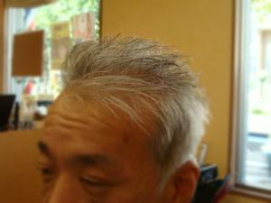 薄毛で気になる方に、ちょい悪スタイル